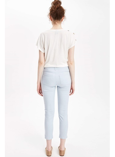DeFacto Slim Fit Pantolon Mavi